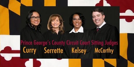 PG Co. Sitting Judges' Campaign Reception-RSVP by 1/10!- $100 min. donation tickets