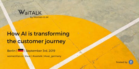 WaiTALK: How AI is transforming the customer journey Tickets