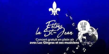 Fêtons la St-Jean tickets