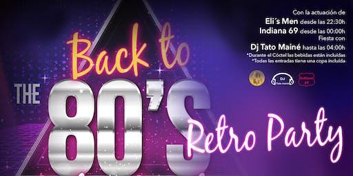Fiesta Bienvenidos a los 80