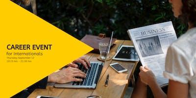 Kickstart Your Jobsearch - Career Night for Internationals