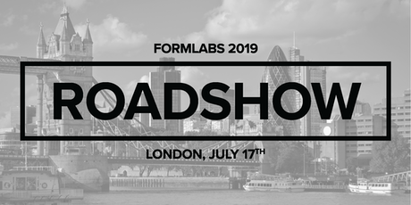 Formlabs London Roadshow 2019 | Jewellery  tickets