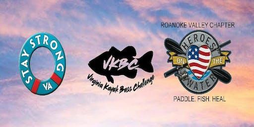 VKBC/HOW & Stay Strong VA Pro/AM Charity Kayak Tournamet