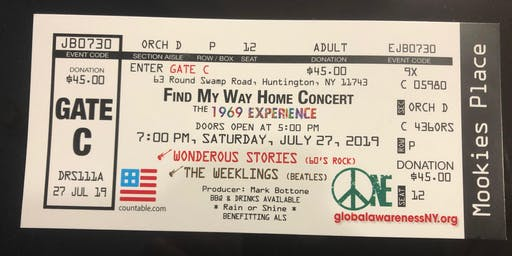 The WEEKLINGS with Wonderous Stories - Find My Way Home Concert