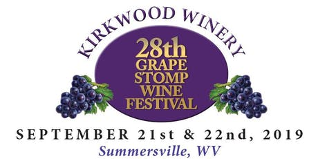 28th Grape Stomp Wine Festival tickets