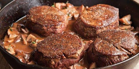 Cast Iron Filet Mignon and Shrimp Cooking Class tickets