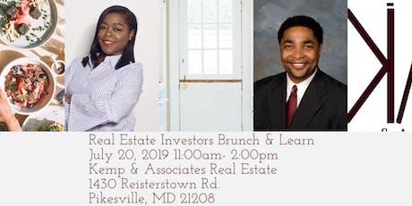 "Real Estate Investors ""Brunch & Learn""  tickets"