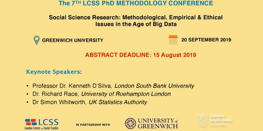 The 7th LCSS PhD Methodology Conference