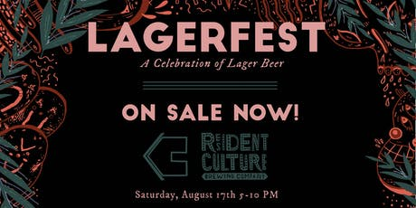Lager Fest: A Celebration of Lager Beer tickets
