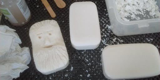 RESCHEDULED: Soap Carving Workshop with Artist & Craftsman Supply
