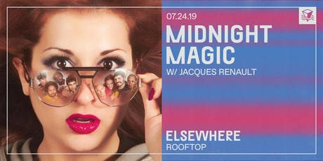 Midnight Magic @ Elsewhere (Rooftop) tickets