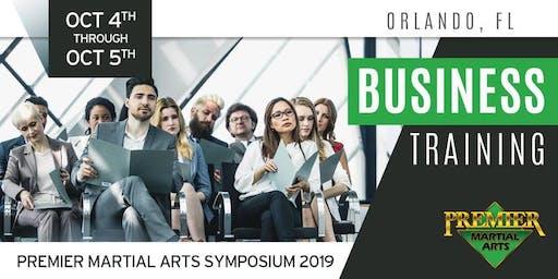 Premier Martial Arts Symposium 2019 - Business