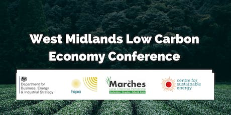 The West Midlands Low Carbon Economy Conference tickets