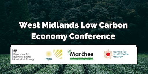 The West Midlands Low Carbon Economy Conference
