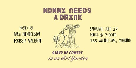 Mommy Needs a Drink tickets