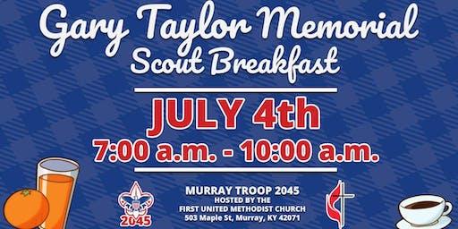 Murray BSA Troop 45 Memorial Breakfast