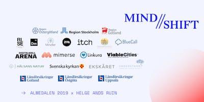 Starten på en rörelse för Sveriges psykiska välmående - MIND // SHIFT Mingel Almedalen 2019