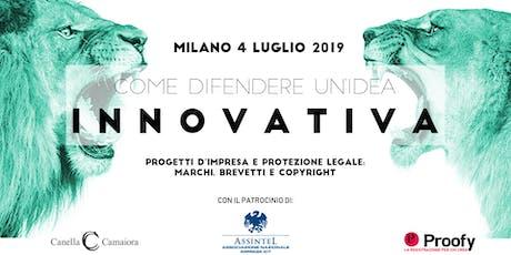 Come difendere un'idea innovativa® Tour 2019/2020 - Milano biglietti