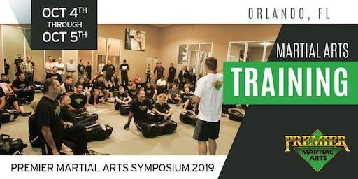 Premier Martial Arts Symposium 2019 - Martial Arts Training