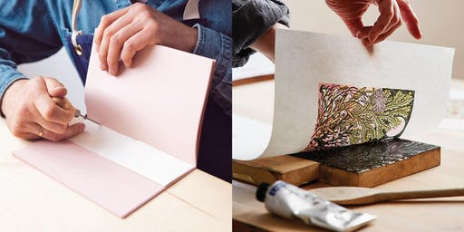 Wood Engraving and Journal Making with Angie Lewin and Simon Goode
