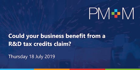 Could your business benefit from a R&D tax credits claim? tickets
