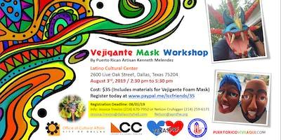 Vejigante Mask Workshop #2