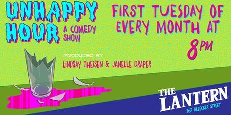 The Unhappy Hour Comedy Show tickets