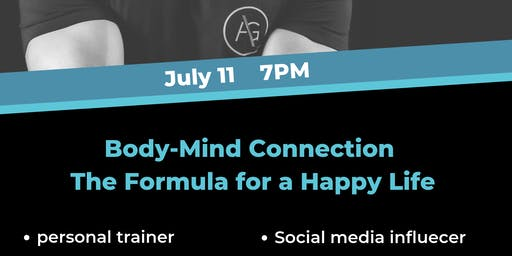 'Body-mind Connection The Formula for a Happy Life' a Talk by Zouhir Ouakka