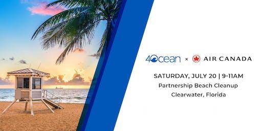 4ocean Beach Cleanup Powered by Air Canada