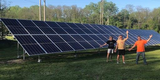 Solar Open House - Luecking Family - Belleville, IL
