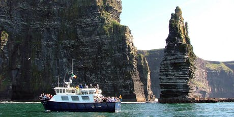 Cliffs of Moher & Boat Cruise Day Tour from Dublin tickets