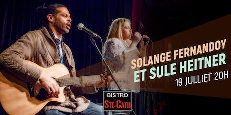 Solange Fernandoy et Sule Heitner billets