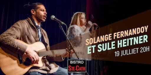 Solange Fernandoy et Sule Heitner
