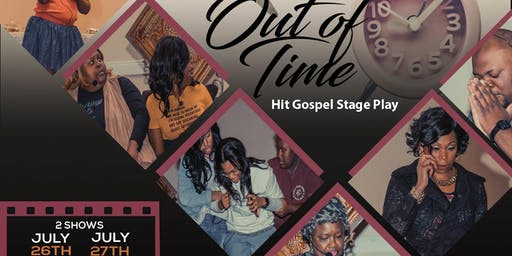 "Alonzo Williams  presents ""Running Out Of Time""  Stage Play"