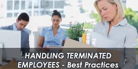 Handling Terminated Employees – Best Payroll Practices tickets