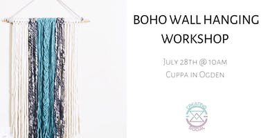 Boho Wall Hanging Workshop