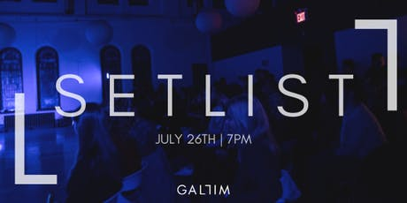 Gallim SETLIST | Summer 2019 tickets