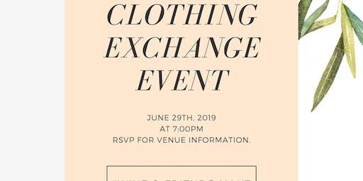 Clothing Exchange Gathering