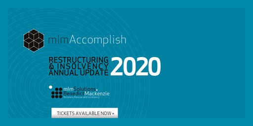 mlm Accomplish Conference, Glasgow: Restructuring and Insolvency Annual Update for 2020