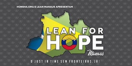 LEAN FOR HOPE em Manaus com SAMMY OBARA (evento solidário)  ingressos