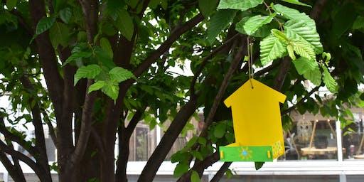 Kids Club: Wooden Hanging Bird Feeder - Muncie