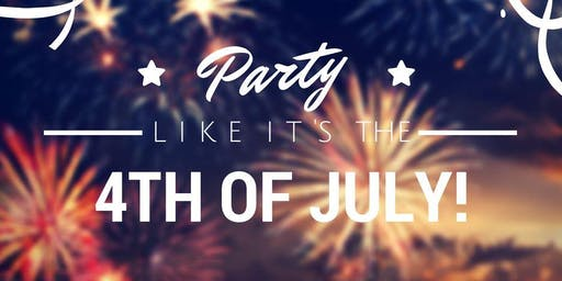 Let's Cheers to the Red White & Blue! 4th of July Weekend at Manhattan Proper
