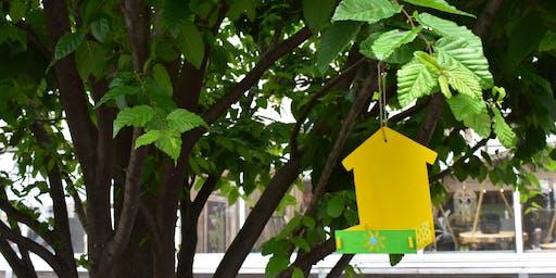 Kids Club: Wooden Hanging Bird Feeder - Union City