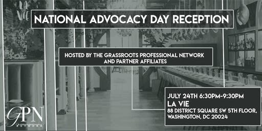 National Advocacy Day Reception presented by GPN Partnership