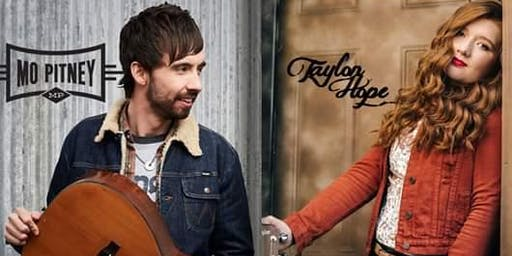 Mo Pitney and Taylon Hope LIVE! at the Blue Ridge Theater & Event Center