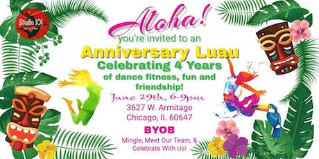 Anniversary Luau! Open House Style! tickets