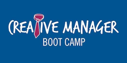 Creative Manager Boot Camp – Washington, D.C., Fall 2019