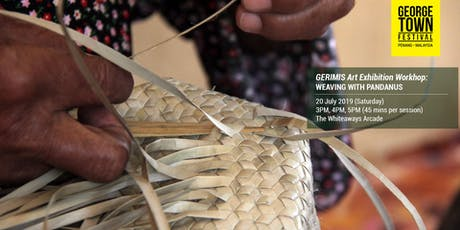 Weaving with Pandanus tickets