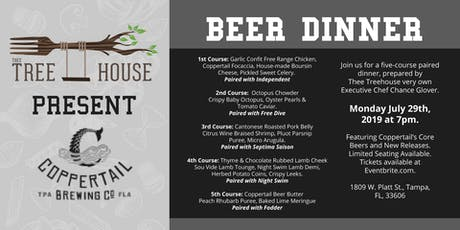 Thee Treehouse Beer Dinner Featuring Coppertail Brewing Co. tickets