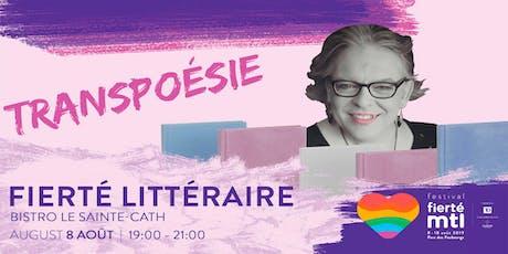 Fierté Littéraire: Transpoésie avec Pascale Cormier tickets